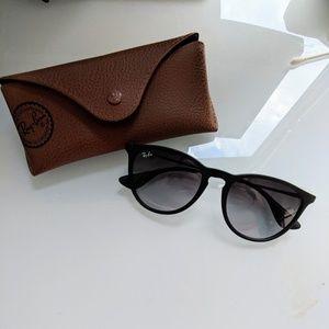 Ray-Ban Erika Sunglasses - Black